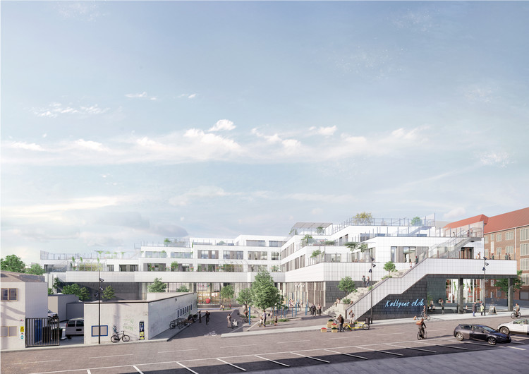 "NORD Architects and BBP Arkitekter Win Competition to Design Copenhagen's New ""Food Culture"" Public School, Courtesy of NORD Architects, BBP Arkitekter and BOGL"