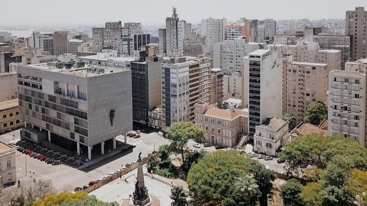 Ícones modernistas gaúchos são retratados em nova série documental no YouTube, Edifício Faial. Imagem cortesia de AsBEA-RS