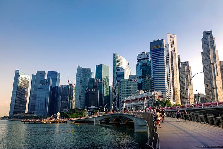 Verticalização de Singapura. Imagem: Jason Goh/Pixabay