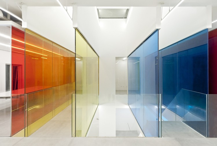 Sede da 21 Cake / People's Architecture Office. Cortesia de People's Architecture Office