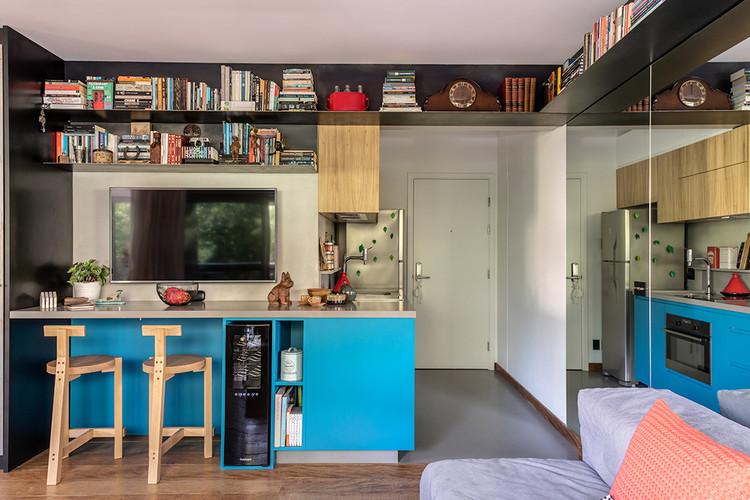 Apartamento República PP / DT Estúdio, © Evelyn Müller