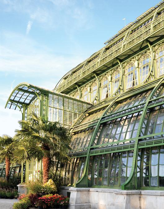 The Schönbrunn Palace Park conservatory, Vienna, Austria / Photo by Alan Stein. Image Courtesy of Princeton Architectural Press