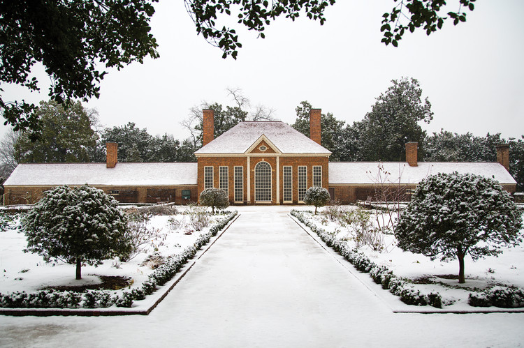 Mount Vernon Orangery, United States / © National Portrait Gallery, London. Image Courtesy of Princeton Architectural Press