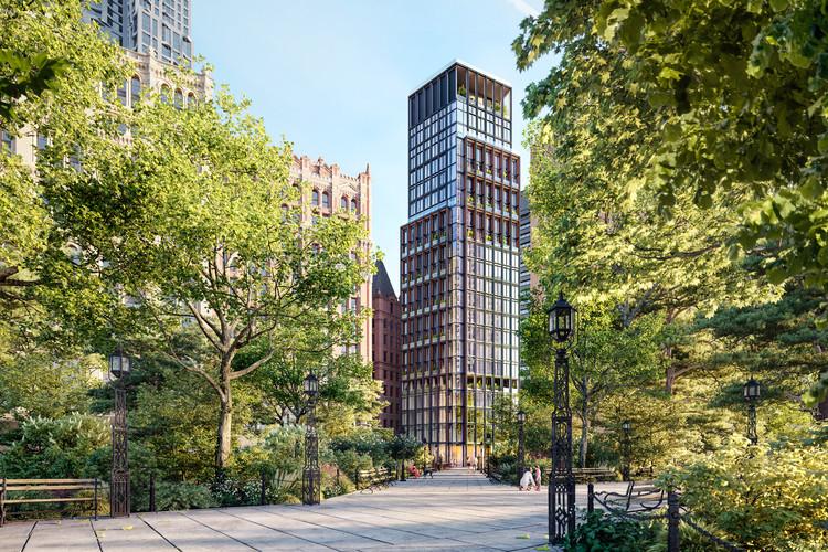 Primeiro projeto residencial de Richard Rogers em Nova Iorque está prestes a ser concluído, Cortesia de Richard Rogers e Graham Stirk no Rogers Stirk Harbour + Partners