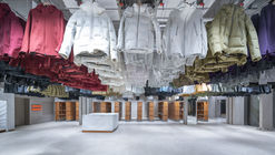 DESCENTE BLANC Beijing / Schemata Architects + Jo Nagasaka