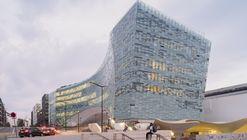 Le Monde Office Building  / Snøhetta + SRA Architects