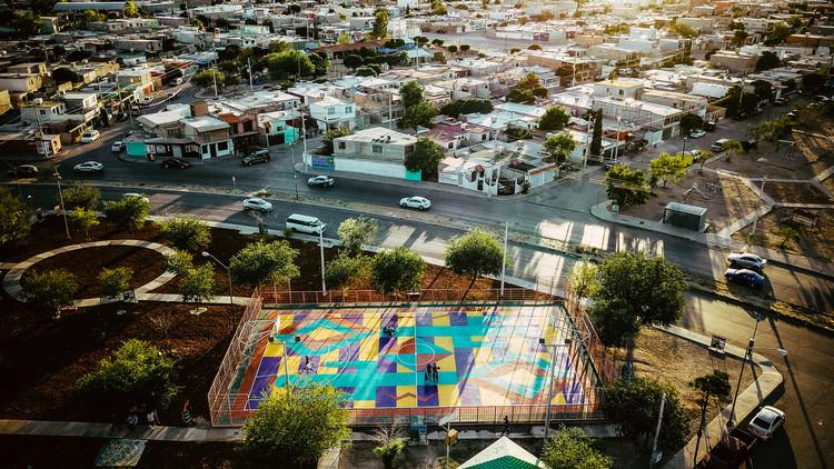 Basketcolor: identidad, juego y resiliencia en la frontera de México. Image Cortesía de Nómada Laboratorio Urbano