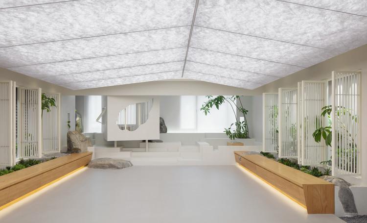 Pushe Tea Room / Jiejie studio, © Zhi Xia