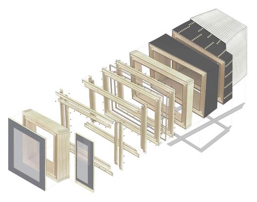 IBA Timber Prototype House / ICD University of Stuttgart. Image Courtesy of ICD University of Stuttgart