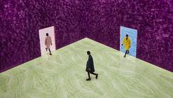 Rem Koolhaas explora a qualidade sensorial dos materiais no Prada FW21 Menswear Showpace