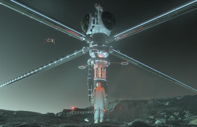 Anunciados os vencedores do concurso Outer Space 2020 , Cortesia de Wei Wu & Zhenyu Yang