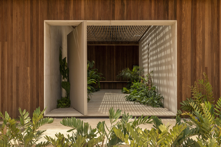 Casa Q04L63 / mf+arquitetos, © Felipe Araújo