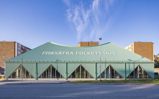 Fisksätra Folkets Hus Community Center / Sandellsandberg
