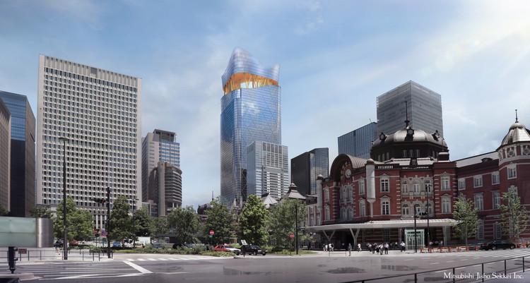 Sou Fujimoto revela diseño para la Torch Tower, en Tokio, Cortesía de Mitsubishi Jisho Sekkei Inc.