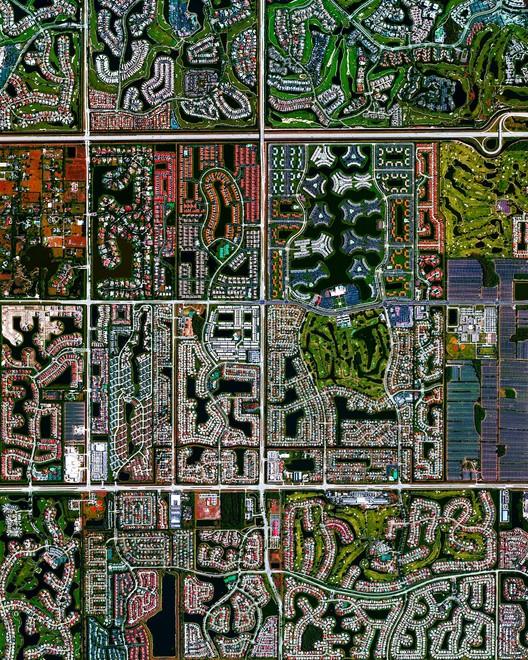 Boca Raton, Florida. Created by @benjaminrgrant, source imagery: @digitalglobe