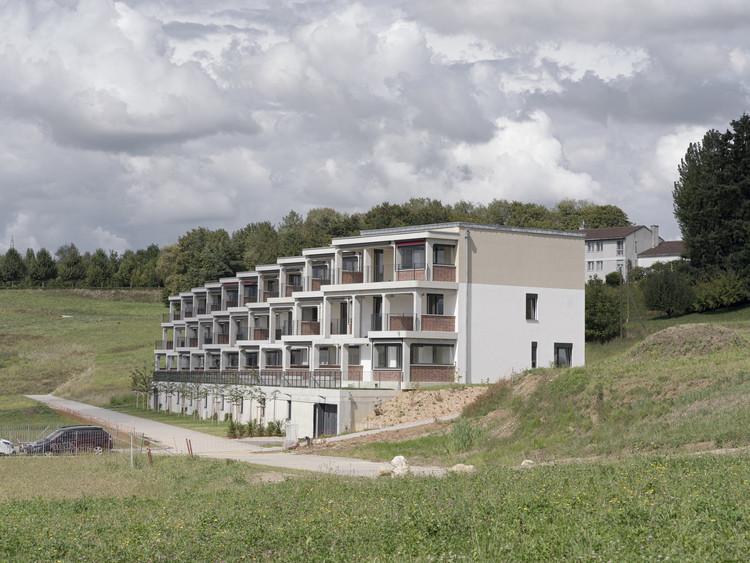 65 Degree Group Housing / Bertola architecture, © Mathieu Gafsou