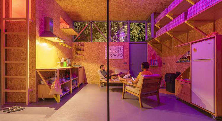 Cabaña del (sinantro)amor, morada del (tele)trabajo / Husos Architects, © Impresiones Cotidianas