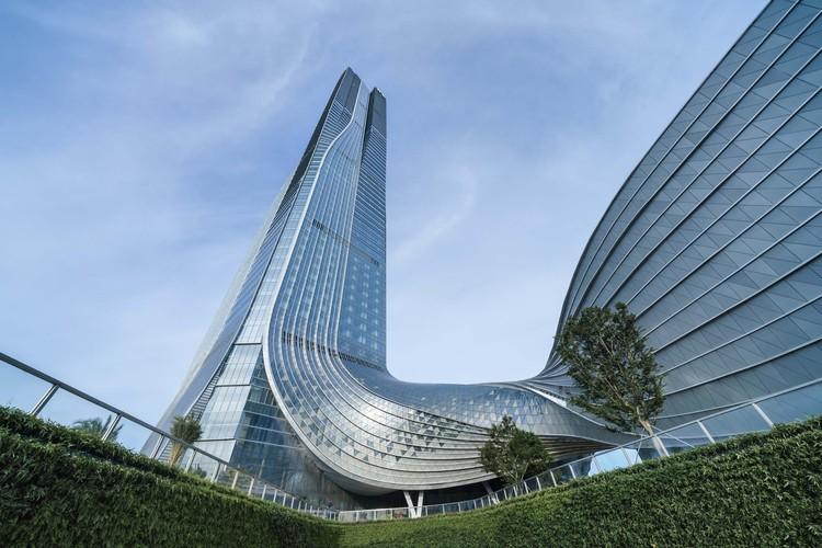 Hengqin International Financial Center / Aedas   ArchDaily