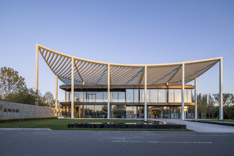 Paper Roof Reception Center / Powerhouse Company, © Weiqi Jin