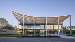 Paper Roof Reception Center / Powerhouse Company