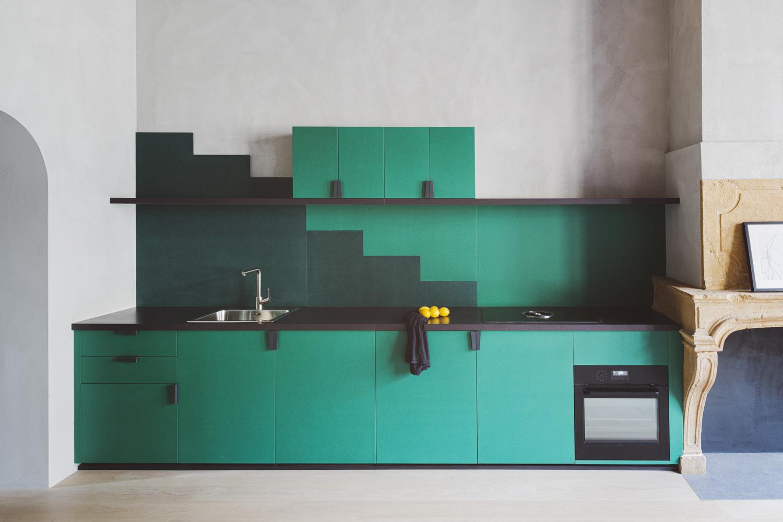 Color en Arquitectura: Las mejores estrategias y tendencias de diseño, los mejores ejemplos en obras y materiales ,© Simone Bossi. ImageApartamento XVII / Studio Razavi architecture