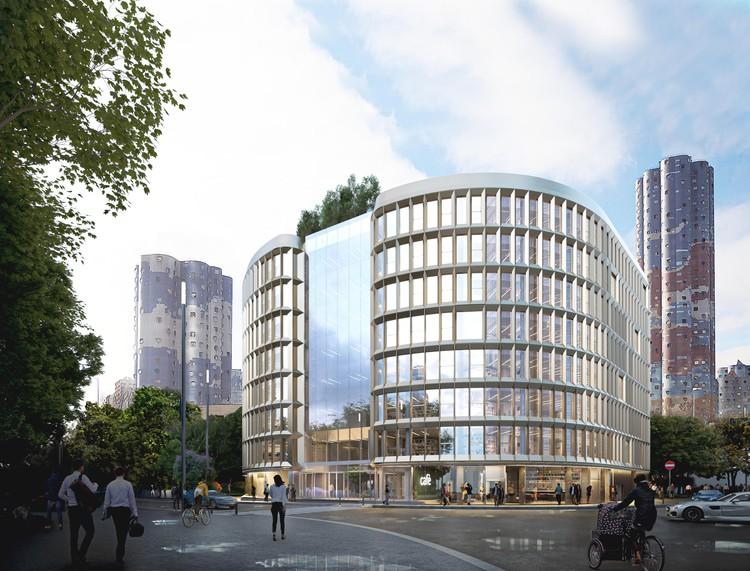 Carlo Ratti Associati projeta edifício paramétrico de uso misto em Paris, ILOW. Cortesia de CRA-Carlo Ratti Associati
