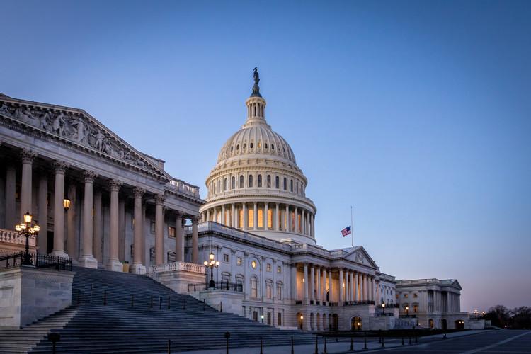 Sobre el asalto al edificio del Capitolio en los Estados Unidos, Edificio del Capitolio de los Estados Unidos en Washington, DC. Imagen © Diego Grandi | Shutterstock