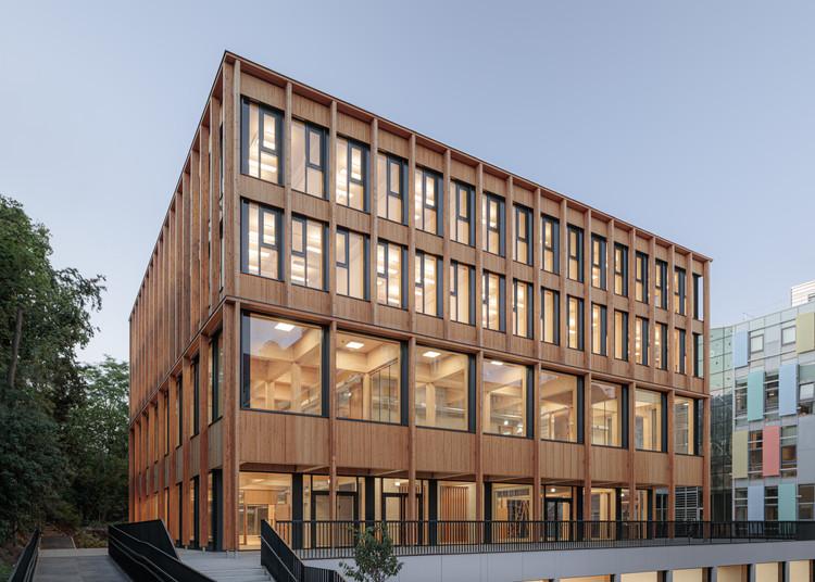 Library and Seminar Centre BOKU Vienna / SWAP Architekten + DELTA, © Florian Voggeneder