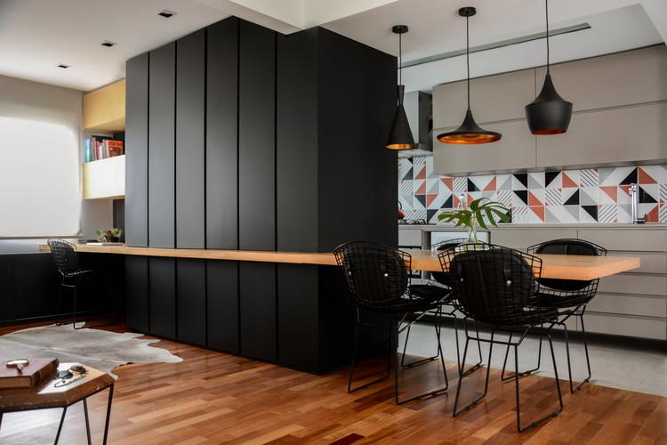 Apartamento Ondina / Atelier Aberto Arquitetura + Sbardelotto Arquitetura, © Carlos Edler