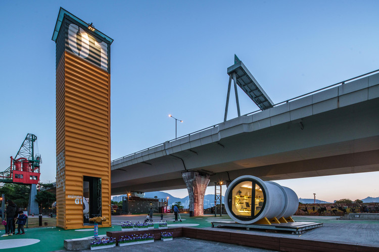 OPod Tube House / James Law Cybertecture. Image © James Law Cybertecture
