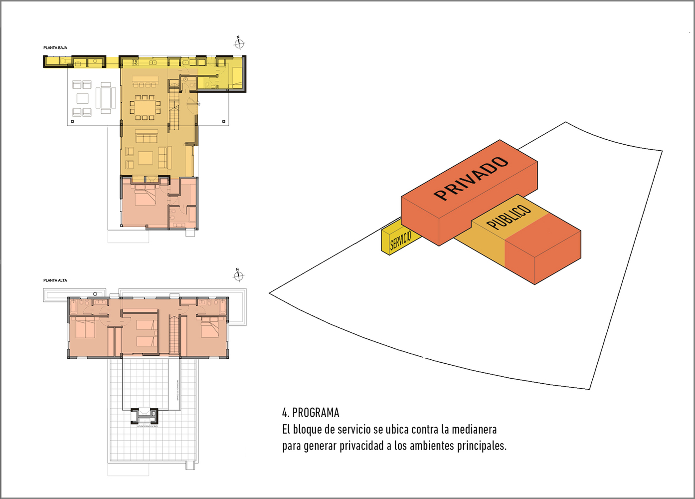 Esquemas funcionales: estrategias de organización programática en casas de Argentina,Casa AG / ZIM arquitextura. Image