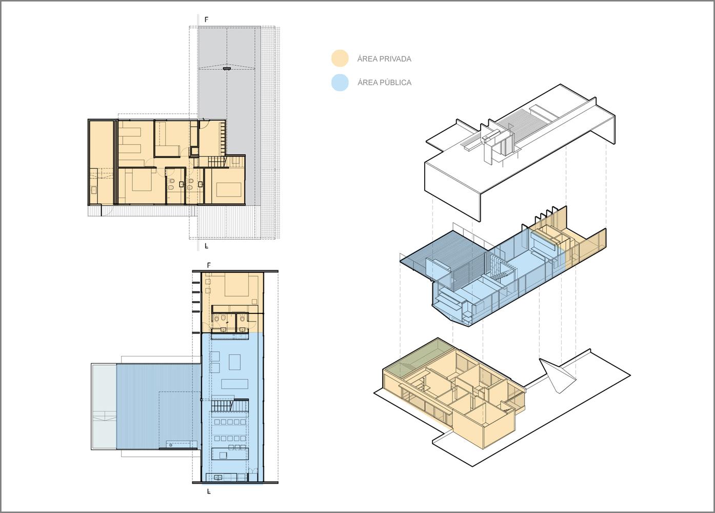 Esquemas funcionales: estrategias de organización programática en casas de Argentina,Casa Cariló / Luciano Kruk. Image