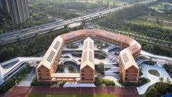 Escola Experimental Primária e Jardim de Infância de Esportes Olímpicos de Hangzhou / UAD
