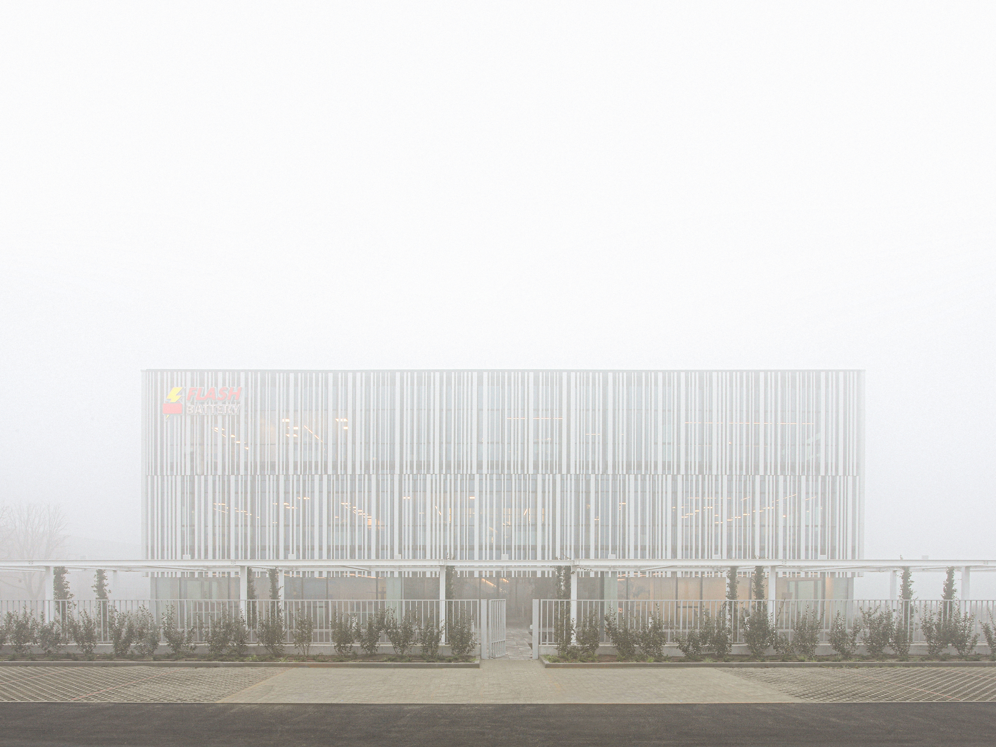 Flash Battery Headquarters / Studio Bocchi