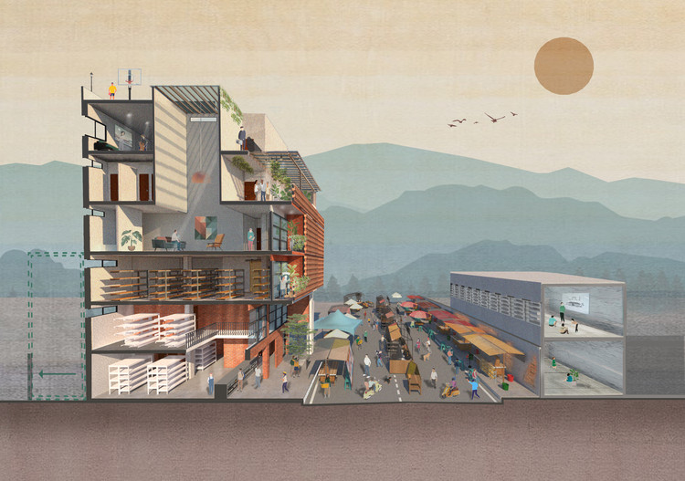 The Best Architectural Drawings of 2020, © Natura Futura Arquitectura