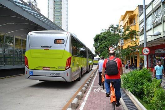 Oferecer infraestrutura de qualidade para modos sustentáveis é oportunidade de estimular mudança de comportamento. Foto: Luísa Zottis/WRI Brasil