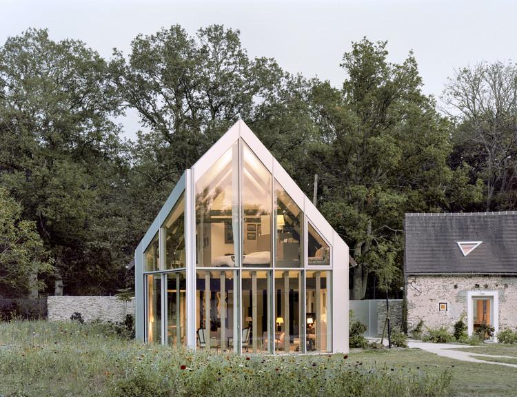 Le Pré aux Pierres House / bureau David Apheceix + Vincent Le Bourdon , ? Maxime Delvaux