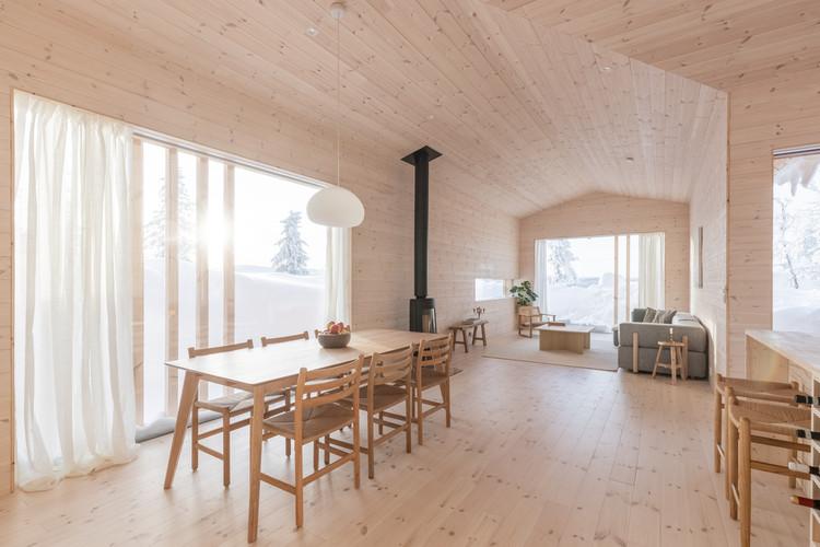 Cabaña Kvitfjell / Erling Berg, © Alejandro Villanueva