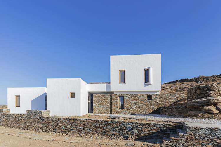 Holiday House in Sifnos  / A_2_Architects, © Yiorgos Kordakis
