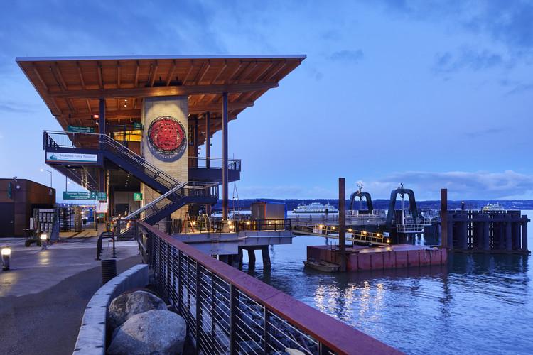 Terminal Multimodal de Ferry en Mukilteo / LMN Architects, © Benjamin Benschneider