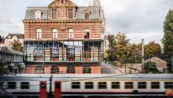 Estación de tren de Laken / B-architecten