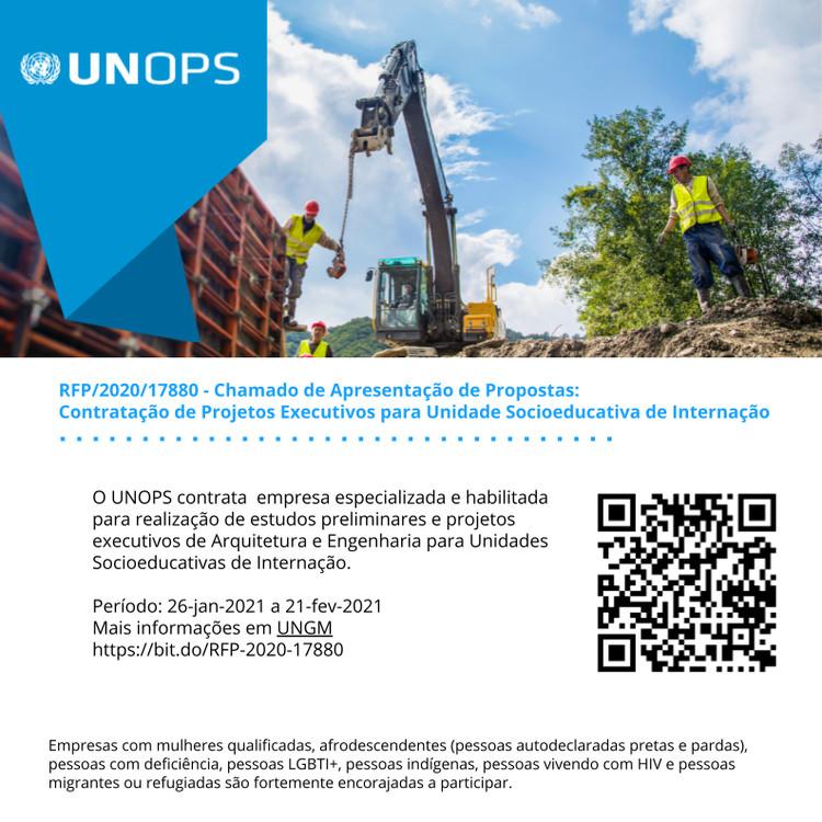 UNOPS abre licitação de projeto para Unidade Socioeducativa de Internação em Duque de Caxias, RFP 2020/17880 - Crédito: UNOPS