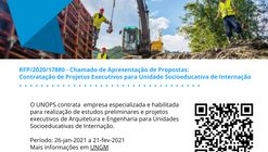 UNOPS abre licitação de projeto para Unidade Socioeducativa de Internação em Duque de Caxias