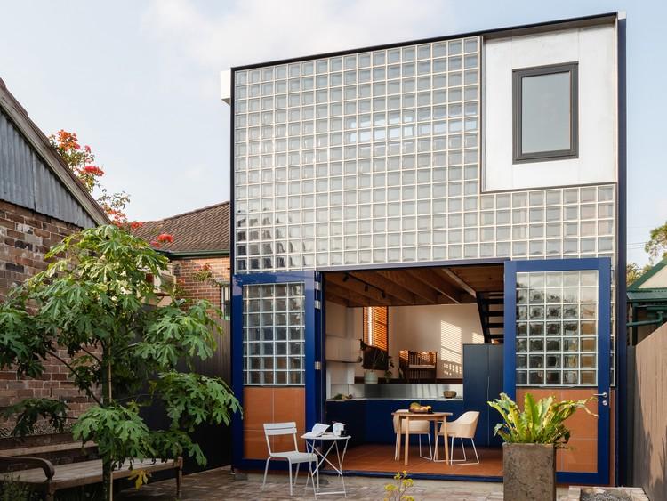 Casa Glassbook / Arquitectura hermana. Imagen © Katherine Lu