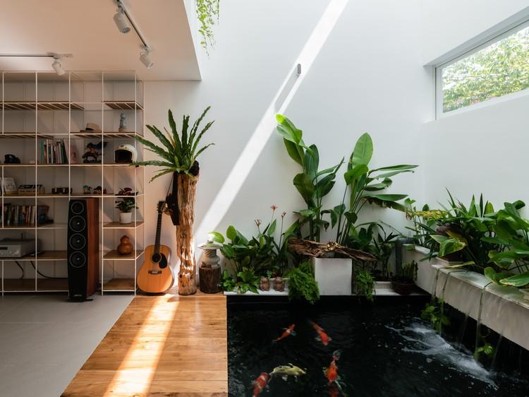 Casa Q / Concepto Q. Imagen © Quang Dam
