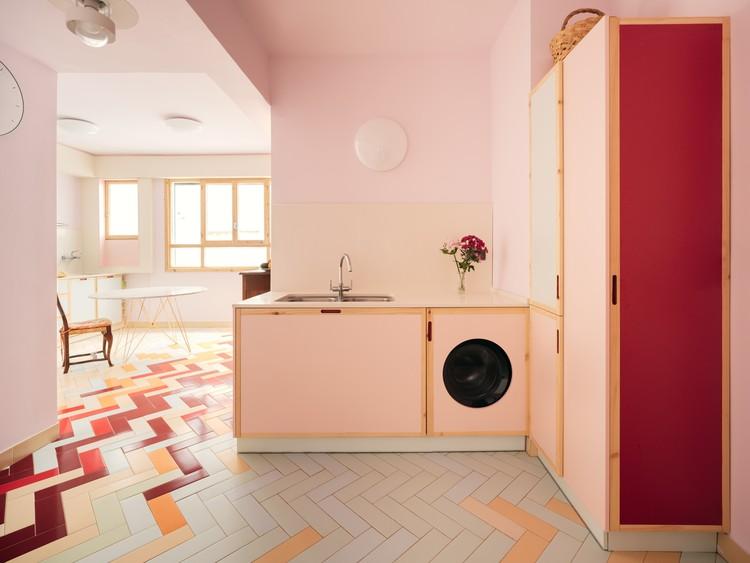Apartamento Mixtape / AZAB. Imagen © Luis Diaz Diaz