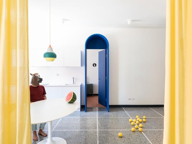 Apartamento Retroscena / Estudio La Macchina. Imagen © Paolo Fusco