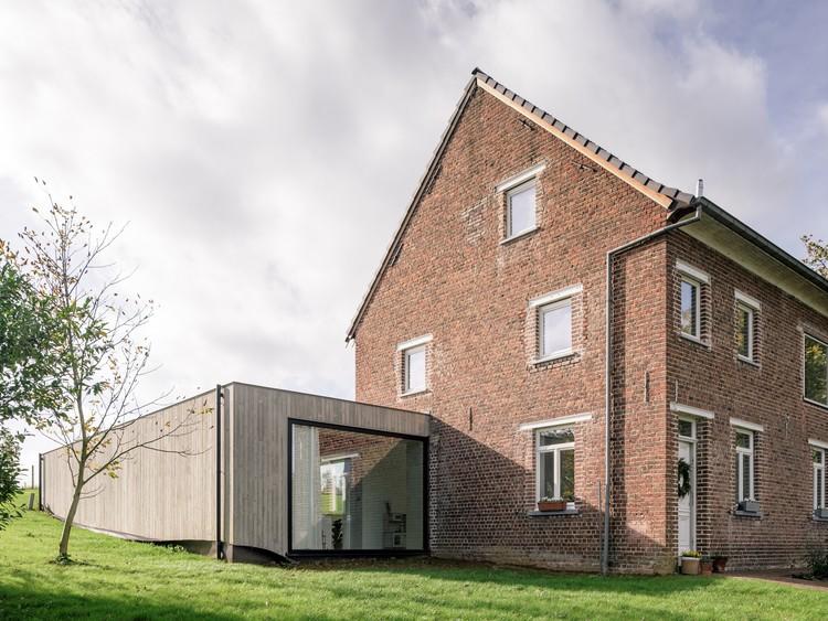 Ampliación Casa Johannes / MADAM architectuur. Imagen © Olmo Peeters