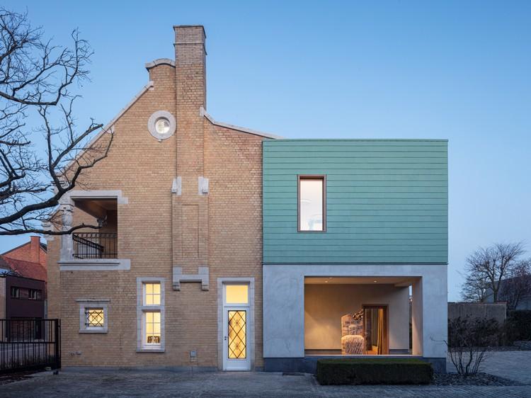 Renovación de oficinas Monumen (t) huis / Declerck-Daels, Architecten. Imagen © Tim Van de Velde