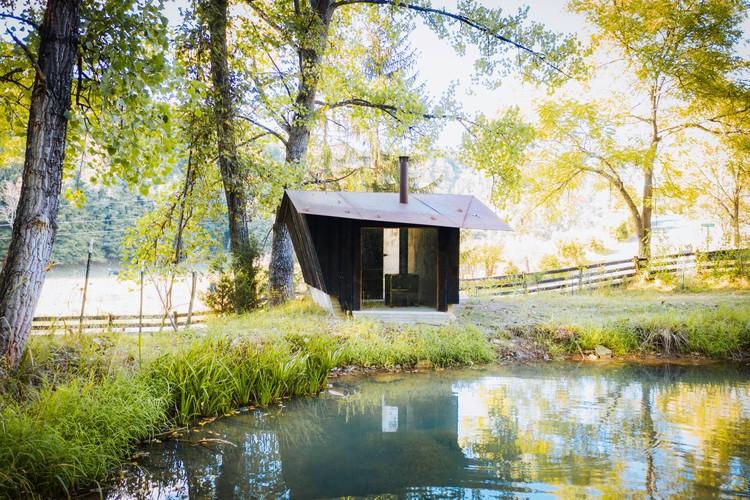 Rocky Knob Sauna / GriD Architects, © Brycen Fischer Photography